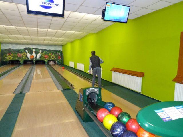 Návštěva bowlingu