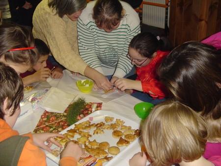 Vánoční dílny rodičů, dětí apracovníků Denního stacionáře PAPRSEK