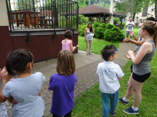 Den dětí vazylovém domě