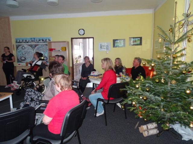 Vánoční návštěva plavčíků