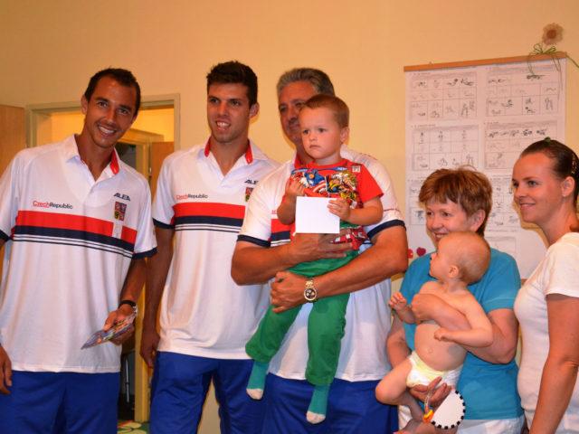 Návštěva Českého daviscupového týmu