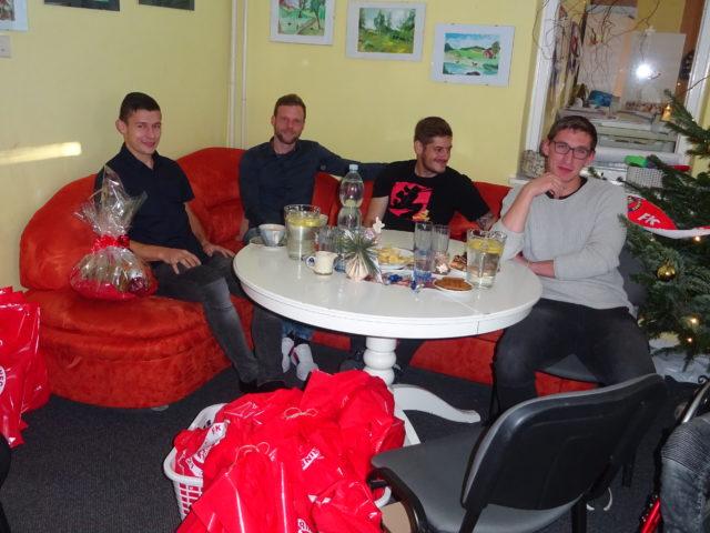 Návštěva fotbalistů